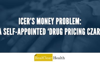 ICYMI: ICER's Money Problem: A Self-Appointed 'Drug Pricing Czar'