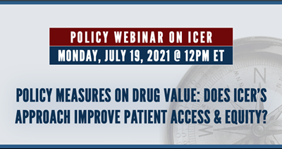 Happening Soon: Policy & Advocacy Webinar on ICER